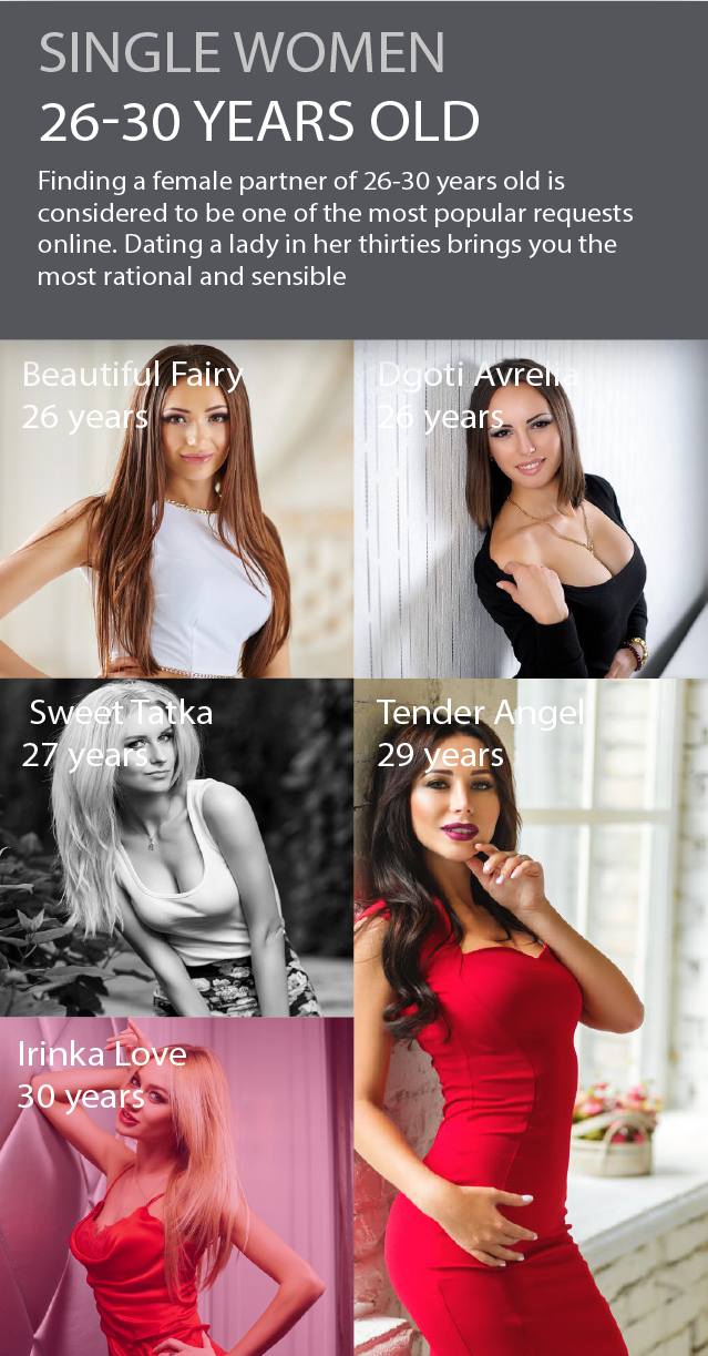 Grown-up girls from Russia dating online